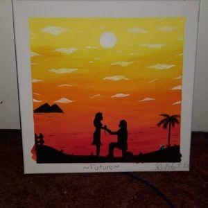 Proposal sunset painting